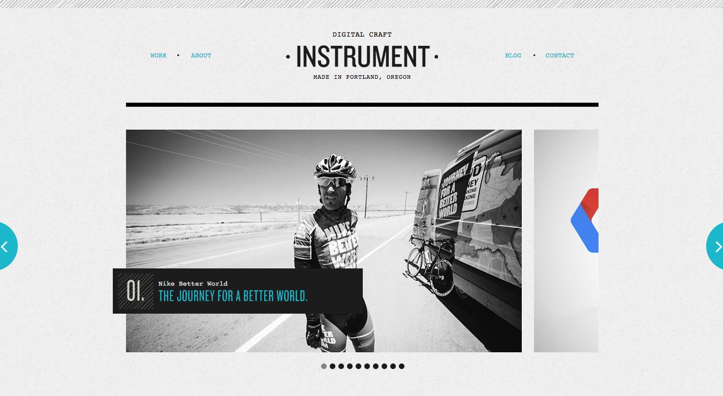 Instrument Portland Digital Agency Digital Craft