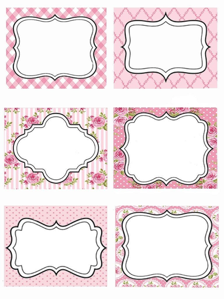 Top etichette rosa | Etichette | Pinterest | Etichette, Rosa e Cornici JA14
