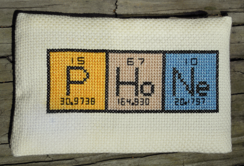 Periodic Table In Stitches Embroidery Inspiration Pinterest