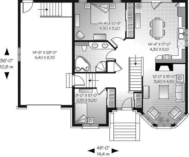 House Plans Home Plans And Floor Plans From Ultimate Plans House Plans Family House Plans Small House Plan