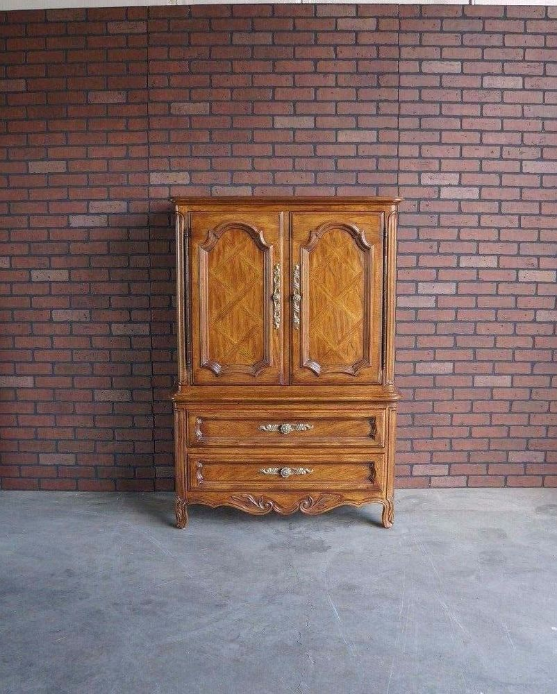 Attrayant Armoire / Wardrobe / Door Chest / Dresser / French Provincial Armoire /  Cabernet Collection By Drexel Heritage