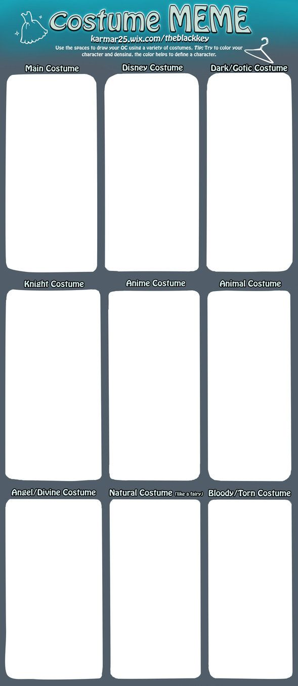 oc costume meme, good idea generator and practice | communicative