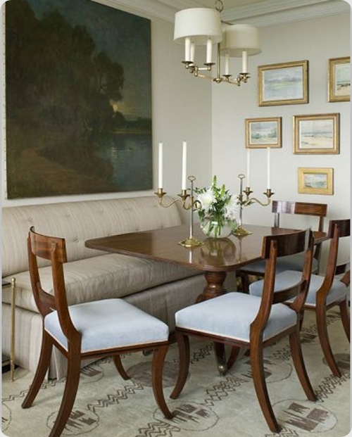 Dining Room Banquette Dining Sets For Elegant Dining: Phoebe Howard, Interior Design