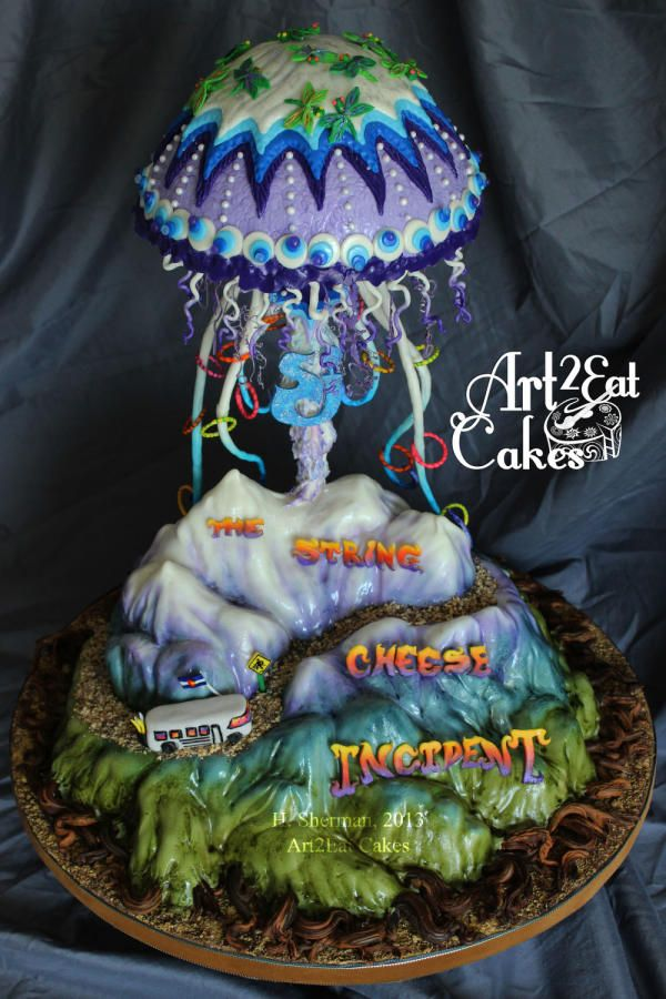 String Cheese Incident Jellyfish Cake