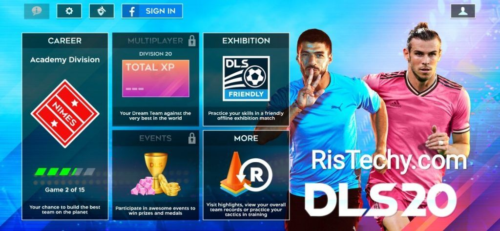 Dream League Soccer 2020 Mod Android In 2020 Soccer Download Hacks League