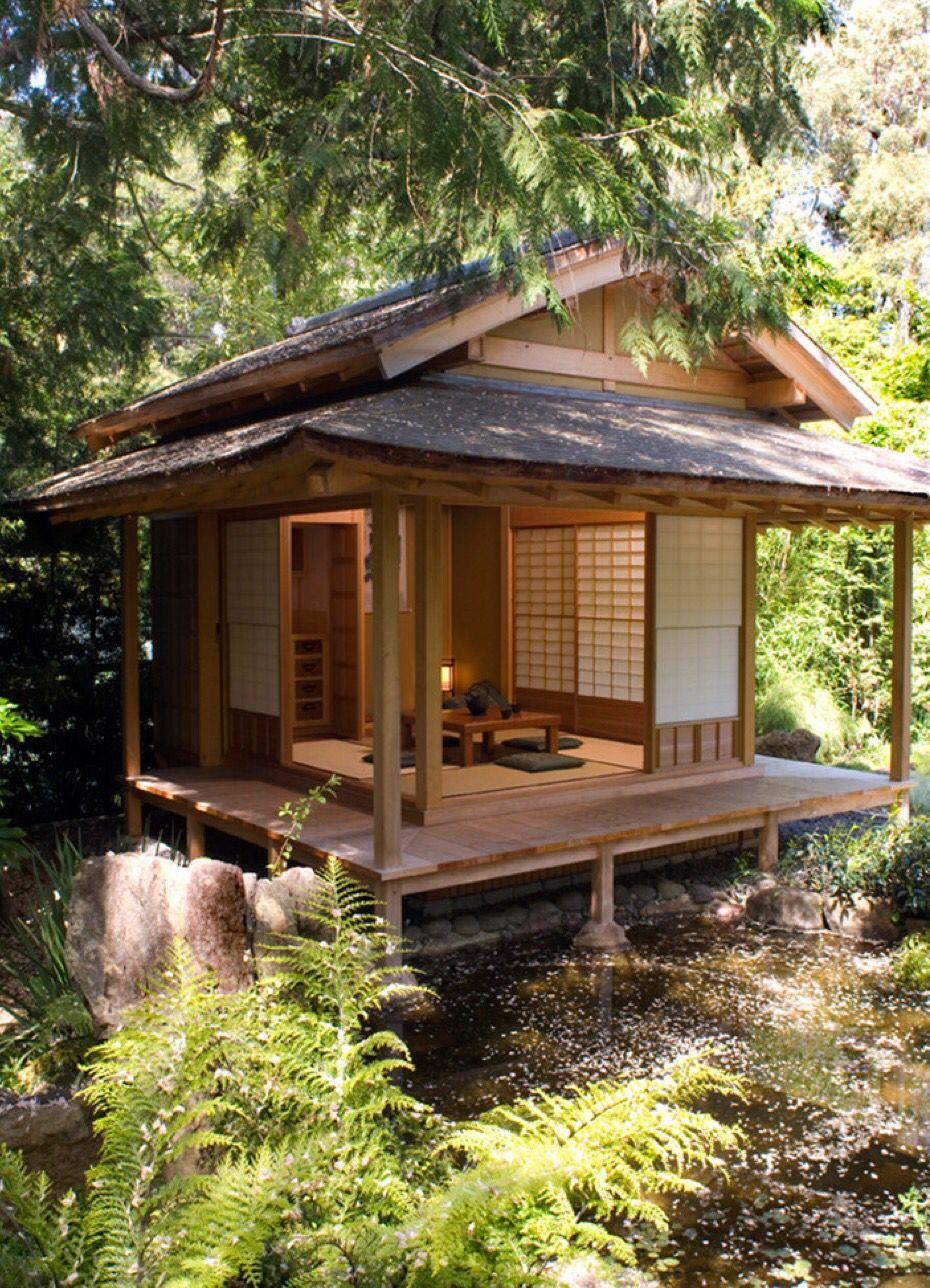 Totally Awesome Japanese Tea House Tea House Design