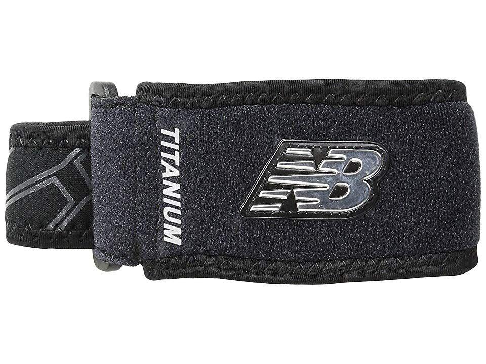 New Balance Adjustable Tennis Elbow Support (Black