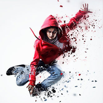 #best #action by #adobe Dispersion PS Action : Adobe Add-ons