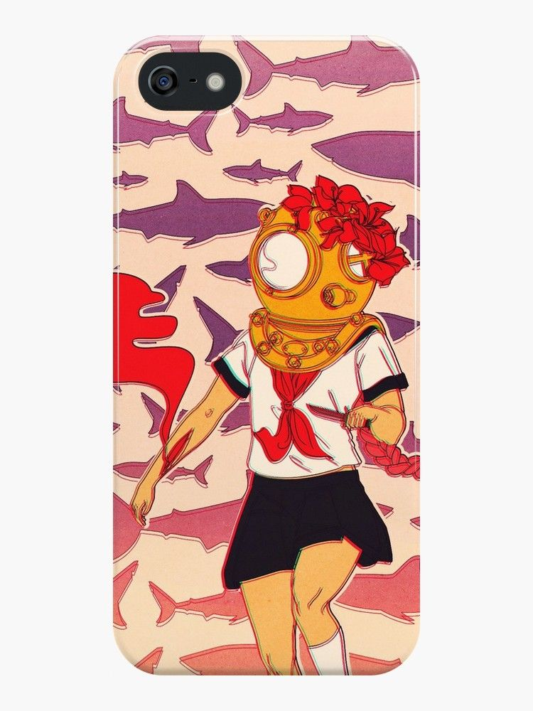Burial at Sea iphone case