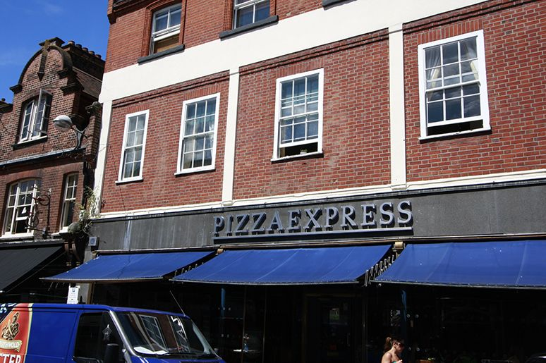 Get 25 Off Your Food Bill At Pizza Express St Benedicts