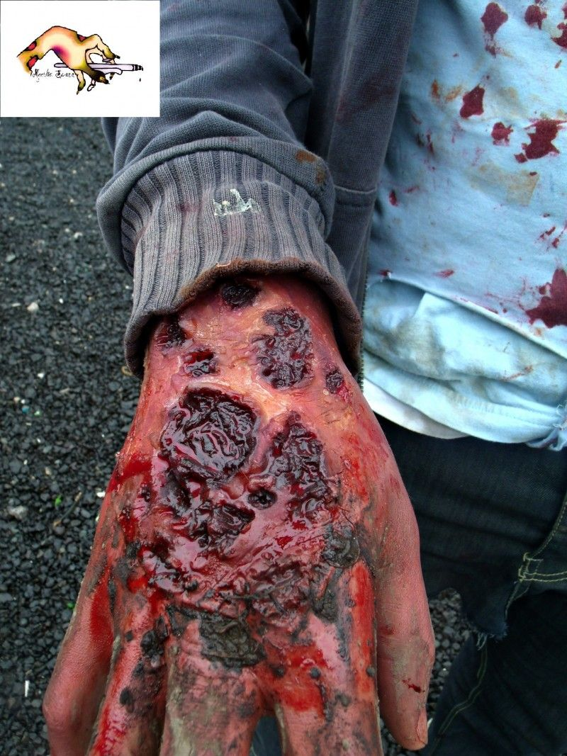 Zombie tear Halloween Costume Prosthetic for sale by The ...