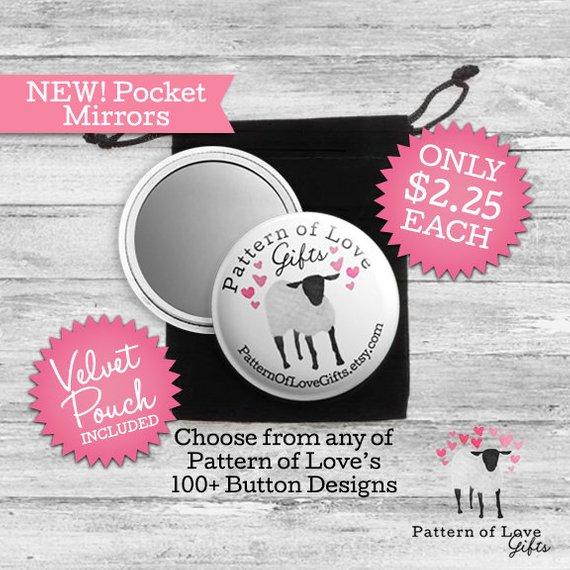 NEW! Pocket Mirror - JW Convention - Gifts - Encouragement