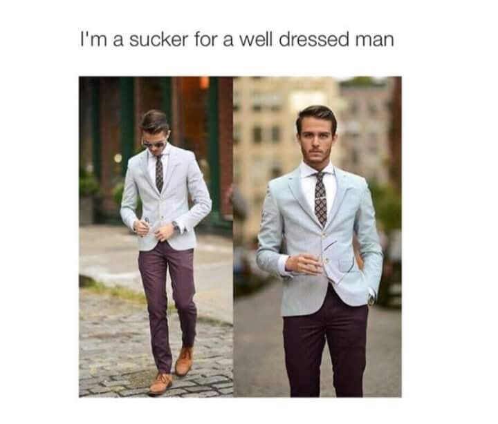 This is well dressed man