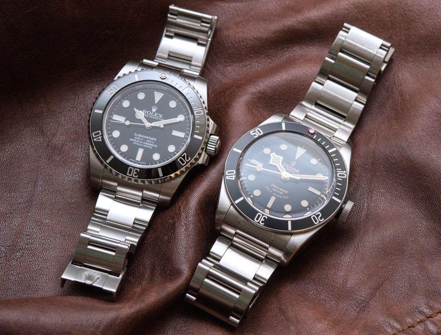 Rolex Submariner 114060 'No Date' Vs. Tudor Heritage Black ...