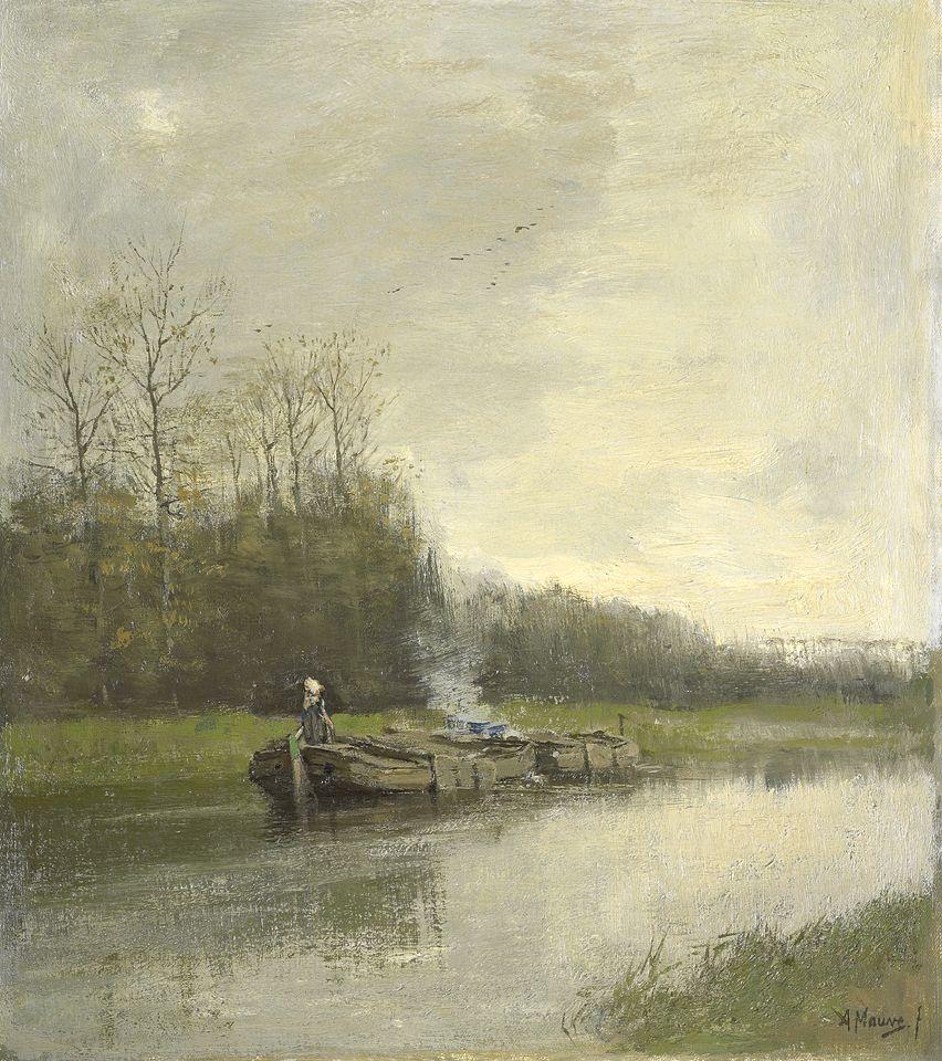 1838 – Anton Mauve, Dutch painter (d. 1888) ...