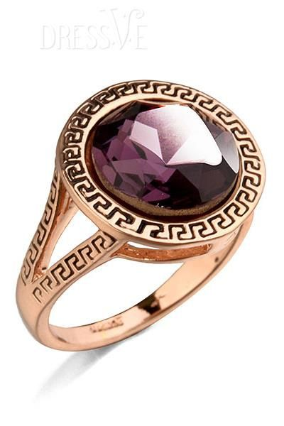 Deluxe Retro Solid Color Crystal Alloy Ring #Jewelry #Ring #Fashion #Beauty http://www.dressve.com/shop-11047613.html