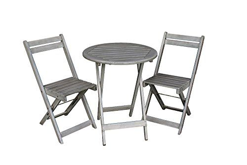 Offerta Di Oggi Balkon Mobel Set Bistrotisch Mit 2 Stuhlen Balkonmobel Tisch Und Stuhle Klappba Outdoor Furniture Outdoor Furniture Sets Outdoor Chairs