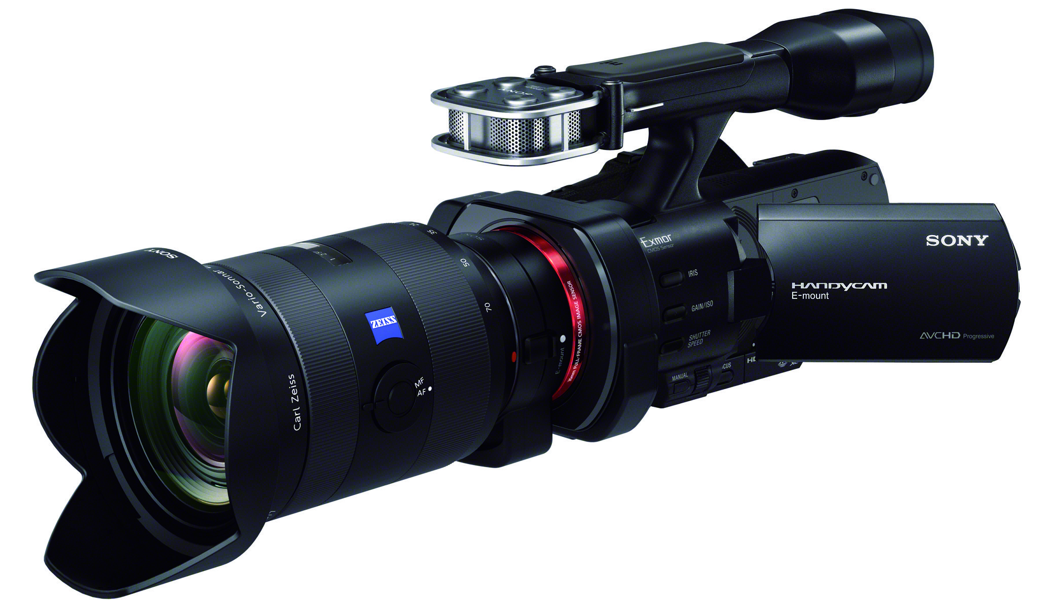 Sony NEXVG900 with LAEA3 lens adapter and Alpha lens