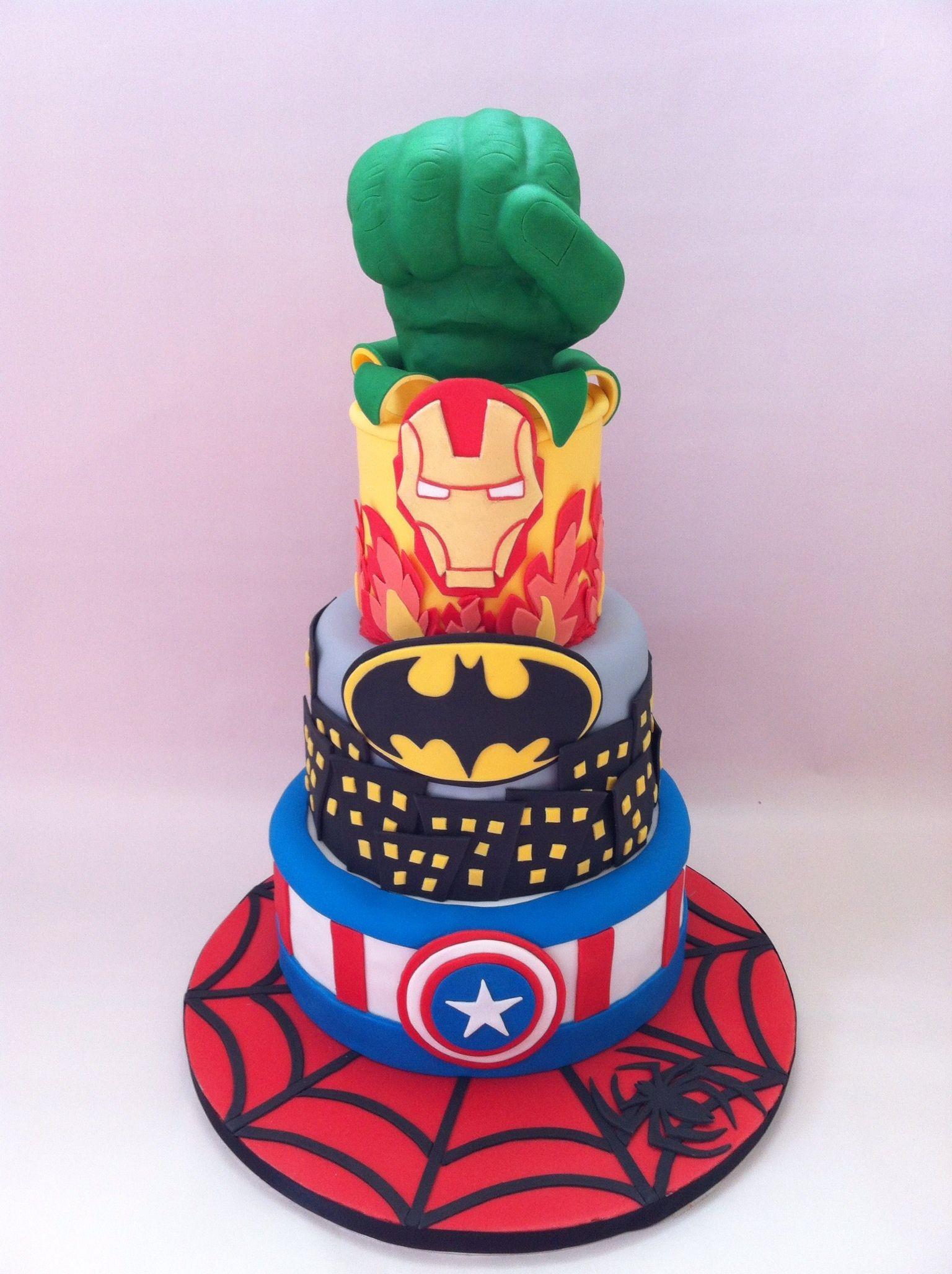 hulk birthday cake tesco