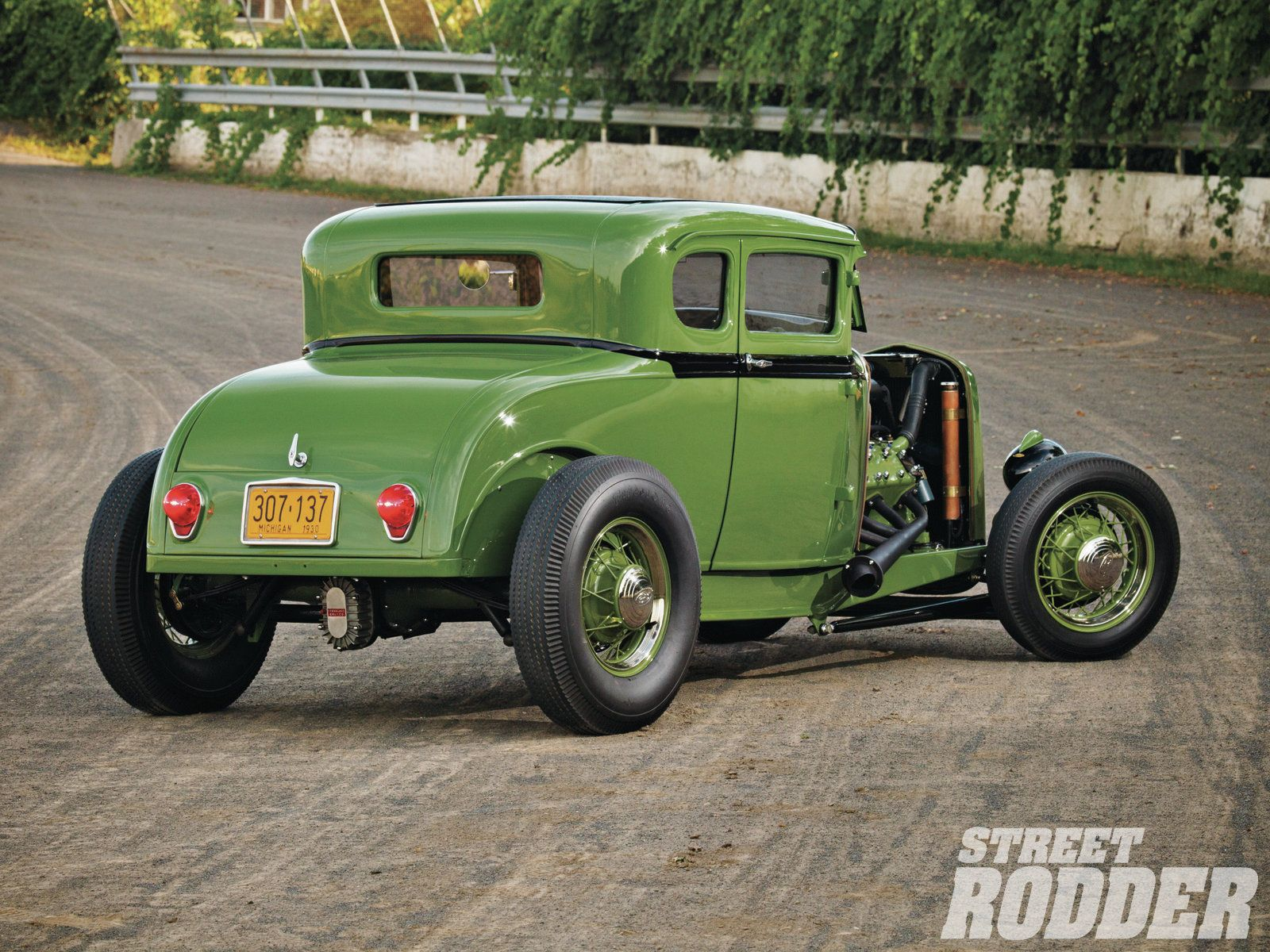 1930 Ford Coupe Model-A model hot rod rods retro wallpaper ...