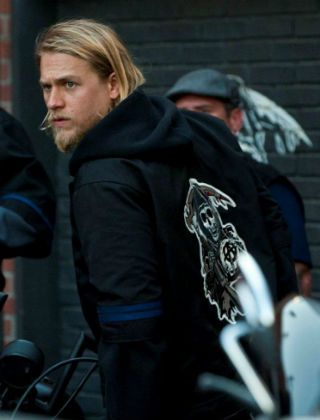 Sons Of Anarchy Giveaway Win A Custom Samcro Jacket Sons Of Anarchy Jax Sons Of Anarchy Charlie Hunnam