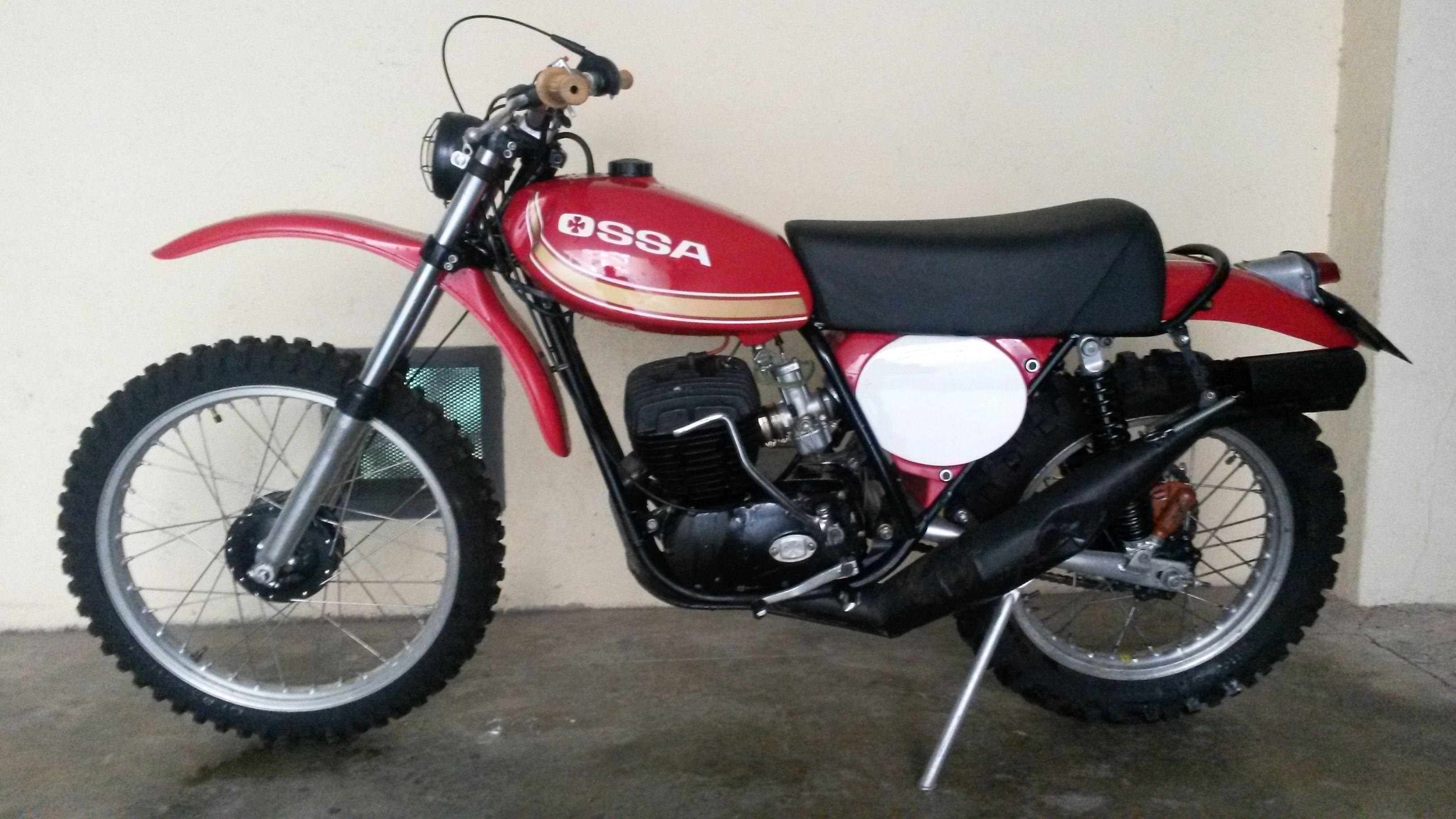 Ossa Phantom Desert 250c C Primera Serie Coches Y Motocicletas Motos Vespas