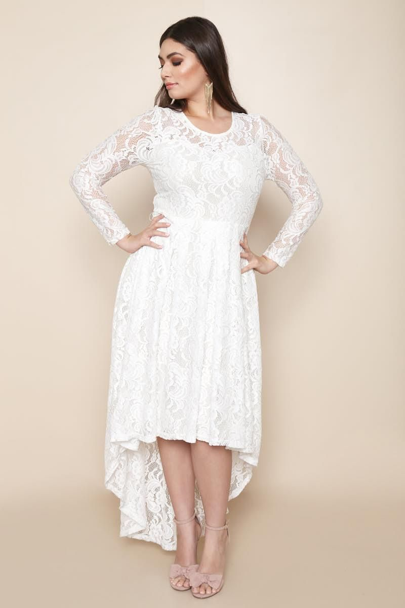 A fancy plus size maxi dress perfect for a formal event. Includes ...