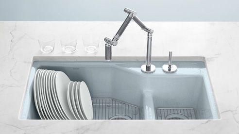 Chloe at Home ~ finding a kitchen sink | Pinterest | Cast iron ...