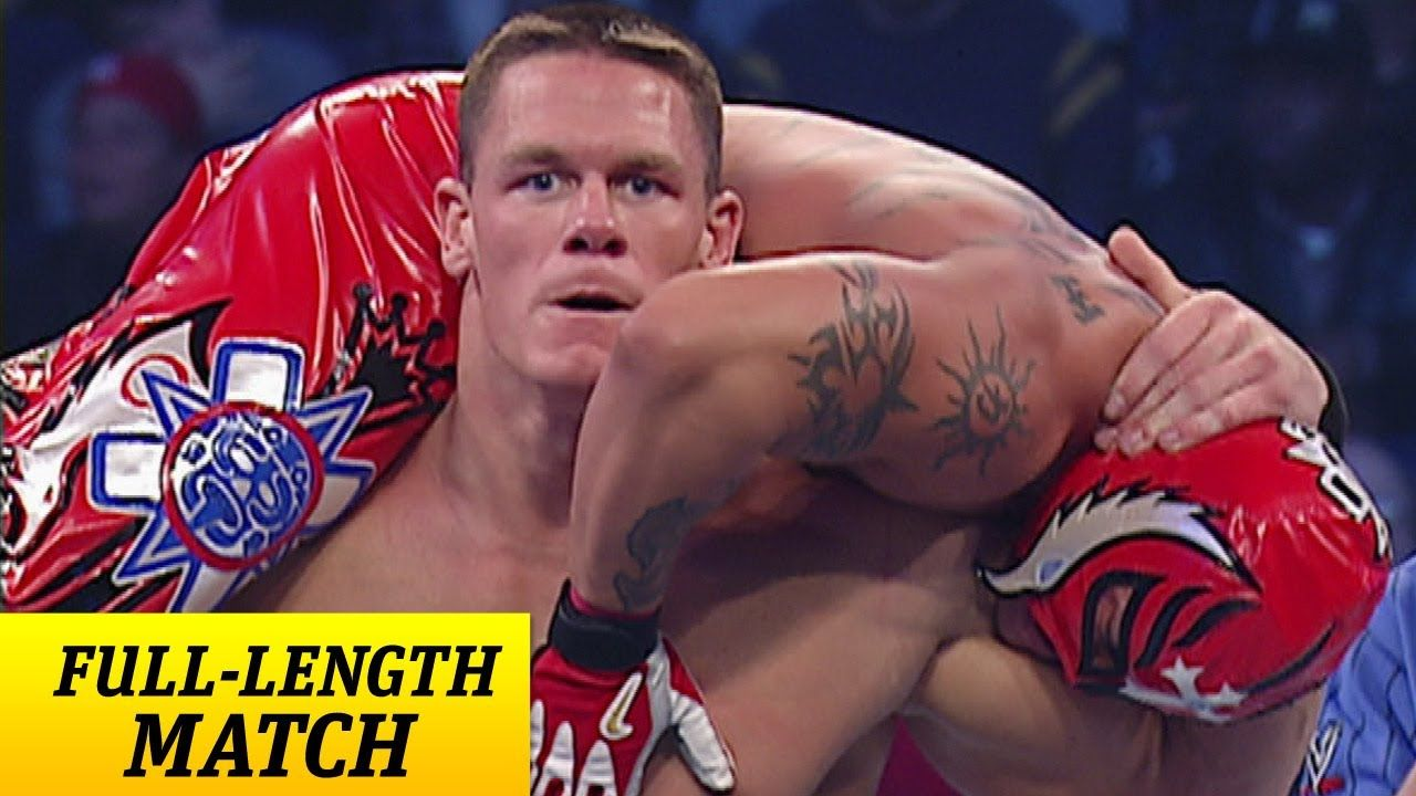 John Cena And Rey Mysterio Together