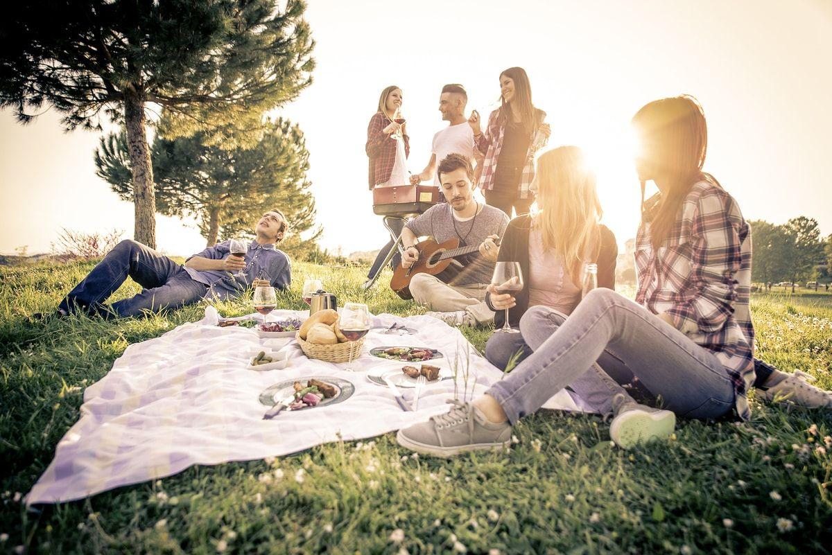 Qué Llevar A Un Picnic Ideas Para Un Día De Campo Genial Dias De Campo Comida Día De Campo Picnic