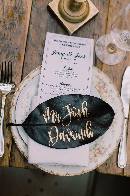 Fresh, Tropical Wedding at Brooklyn Winery in 2020 New