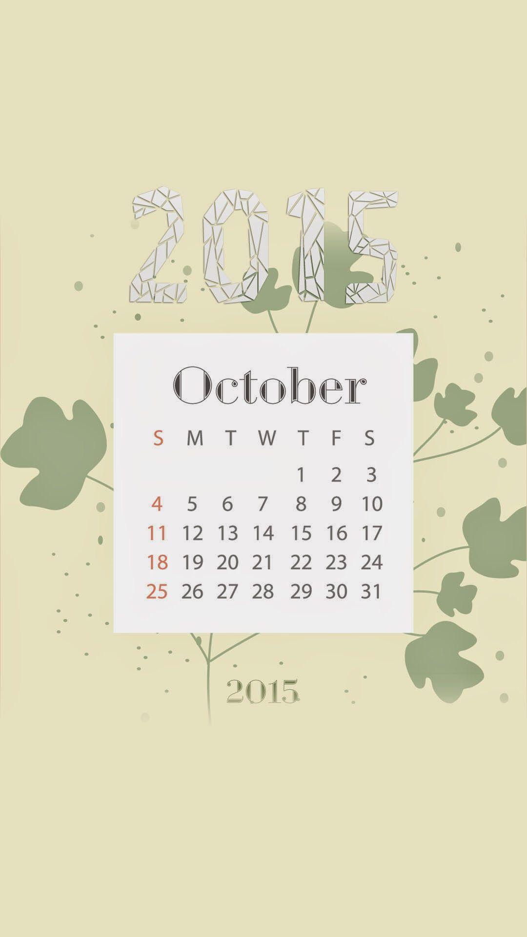 October Calendar Wallpaper Iphone : October wallpaper of calendar wallpapers collection