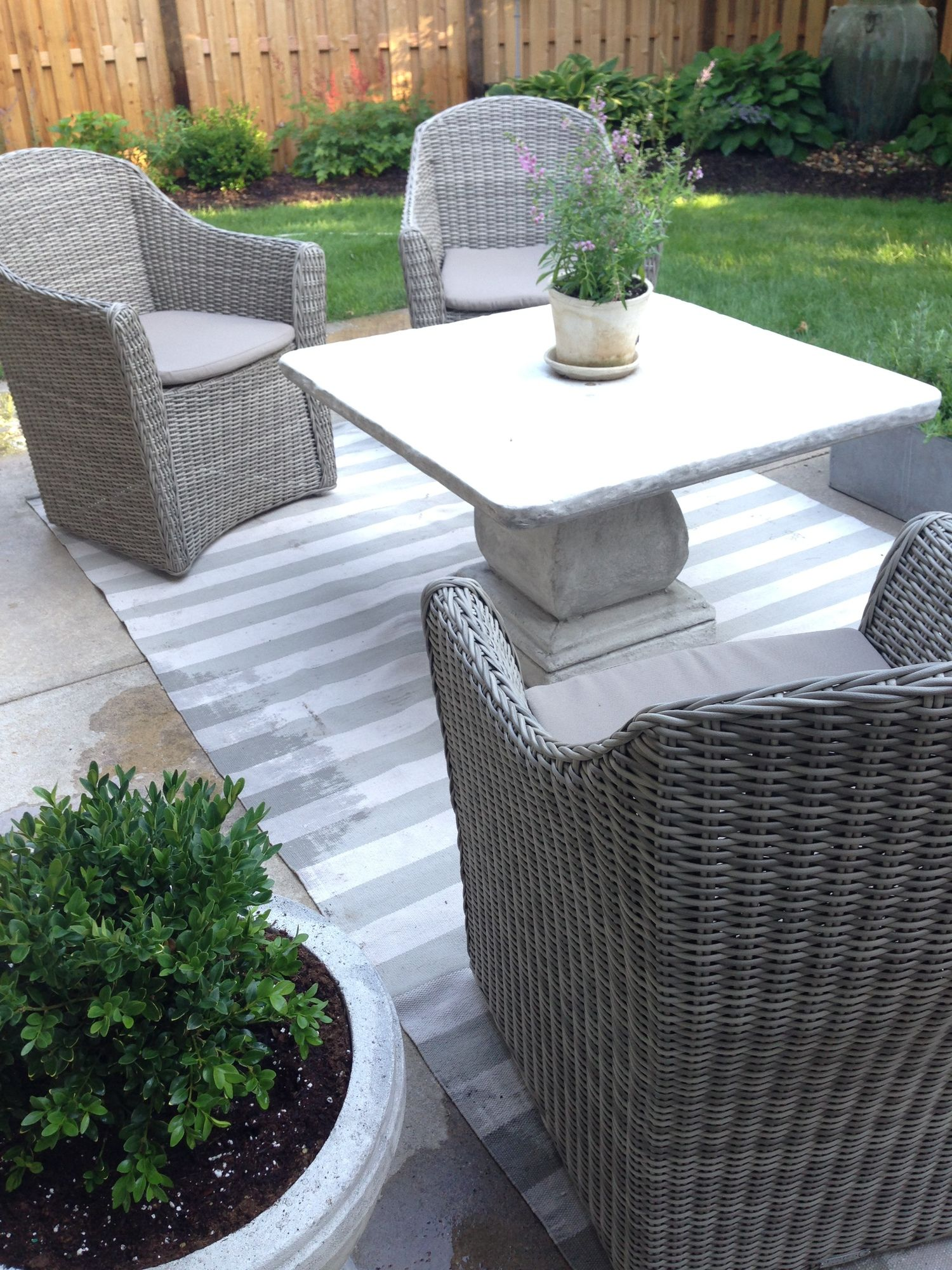 Styling By P C Outdoor Furniture Sets Backyard Outdoor Ottoman