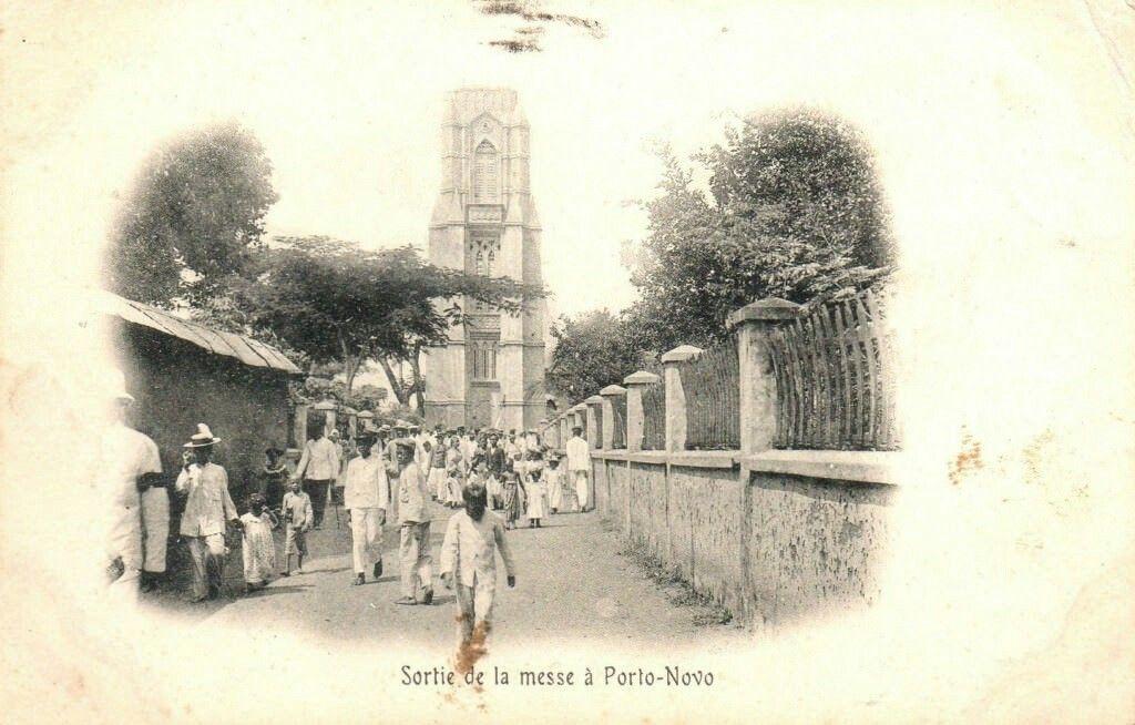 Eglise Notre Dame De Matricule A La Place Bayole Dans Les Annees 60 Porto Novo Au Benin Painting