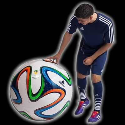 sneakers for cheap 787b4 ea1b7 adidas JUMBO Brazuca Soccer Ball - FIFA 2014 World Cup