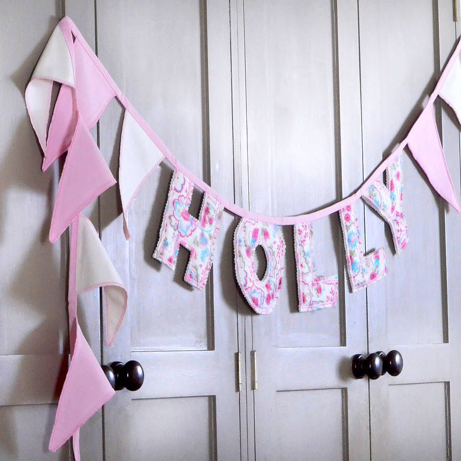 Personalised Letter Bunting By Jonny S Sister Notonthehighstreet