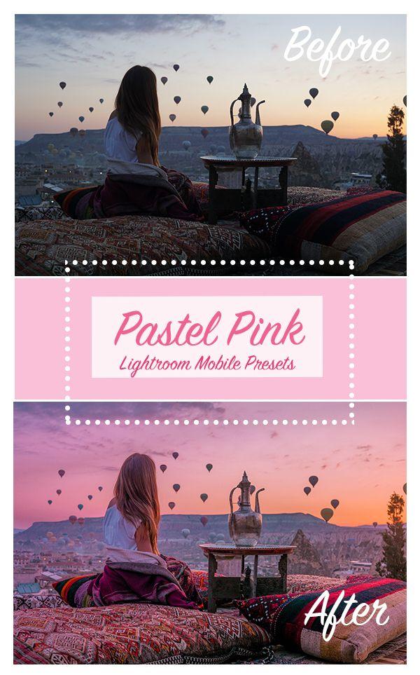 Pastel Pink Lightroom Presets Lightroom Desktop And Mobile Presets Lightroom Presets Lightroom Lightroom Presets Collection