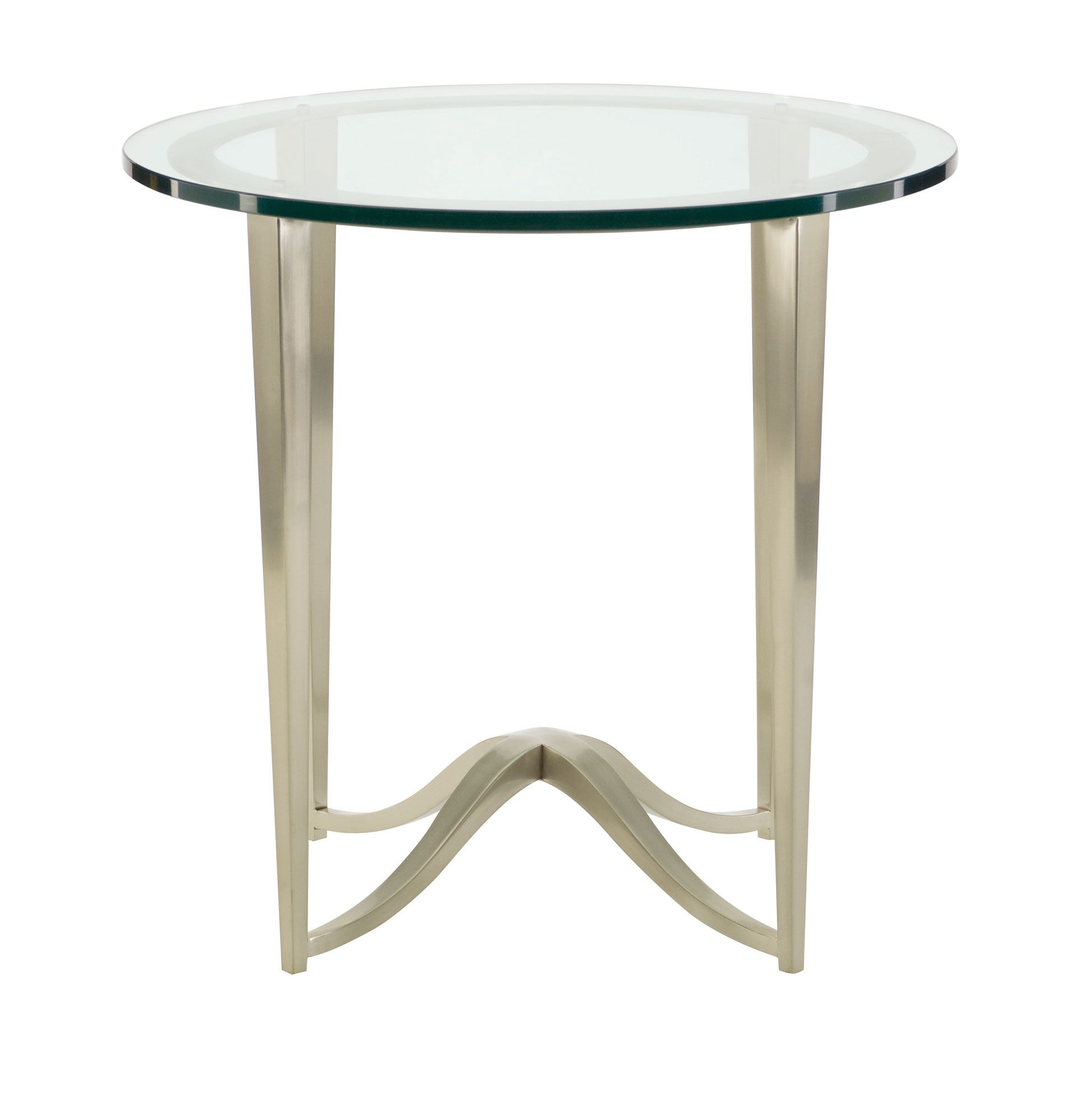 Best Round Chairside Table Glass Top Round Metal Chairside 400 x 300