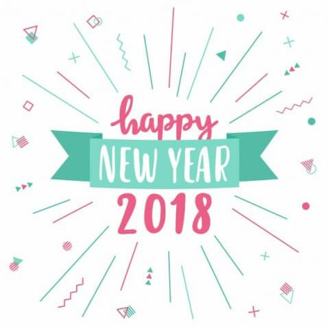 Happy new year 2018 hd wallpapers free download happy new year new year vectors photos and psd files free m4hsunfo