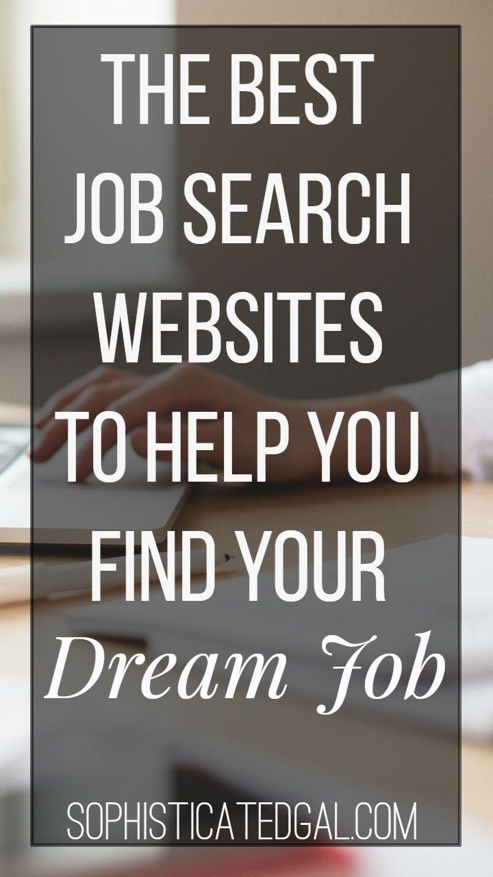 good job finder websites