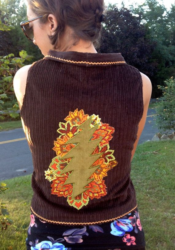 Fall Tour Vest READY TO SHIP size small by WorkingmansThread, $85.00