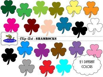 Shamrocks Clip Art Clip Art Clip Art Art Teacher