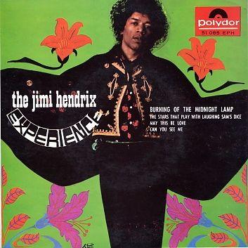 The Jimi Hendrix Experience   Burning Of Midnight Lamp