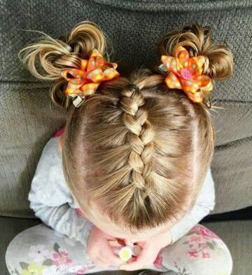 french braid in 2020  kids hairstyles little girl