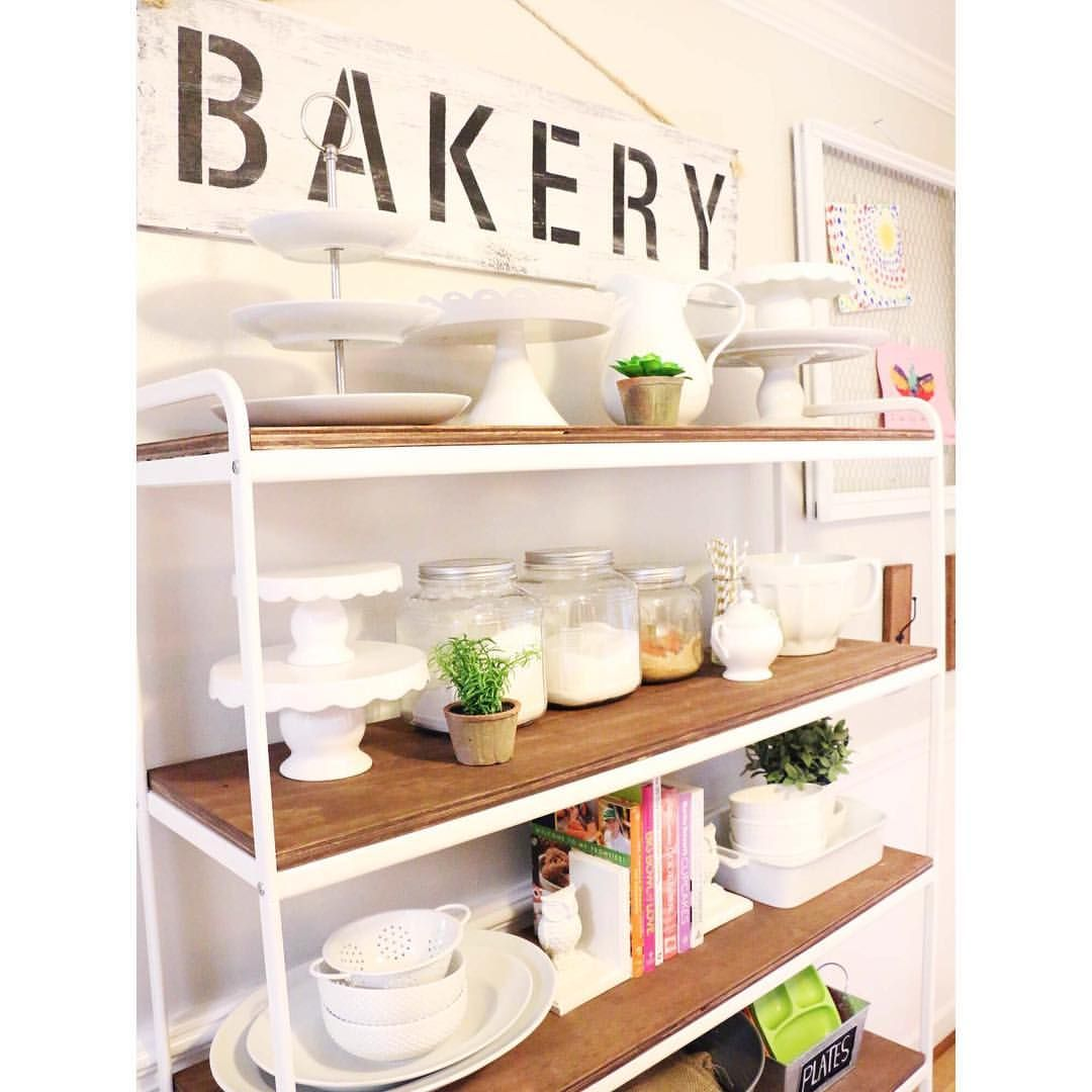 i rearranged my kitchen s diy project ikea shelves i like on kitchen shelves instead of cabinets id=68408