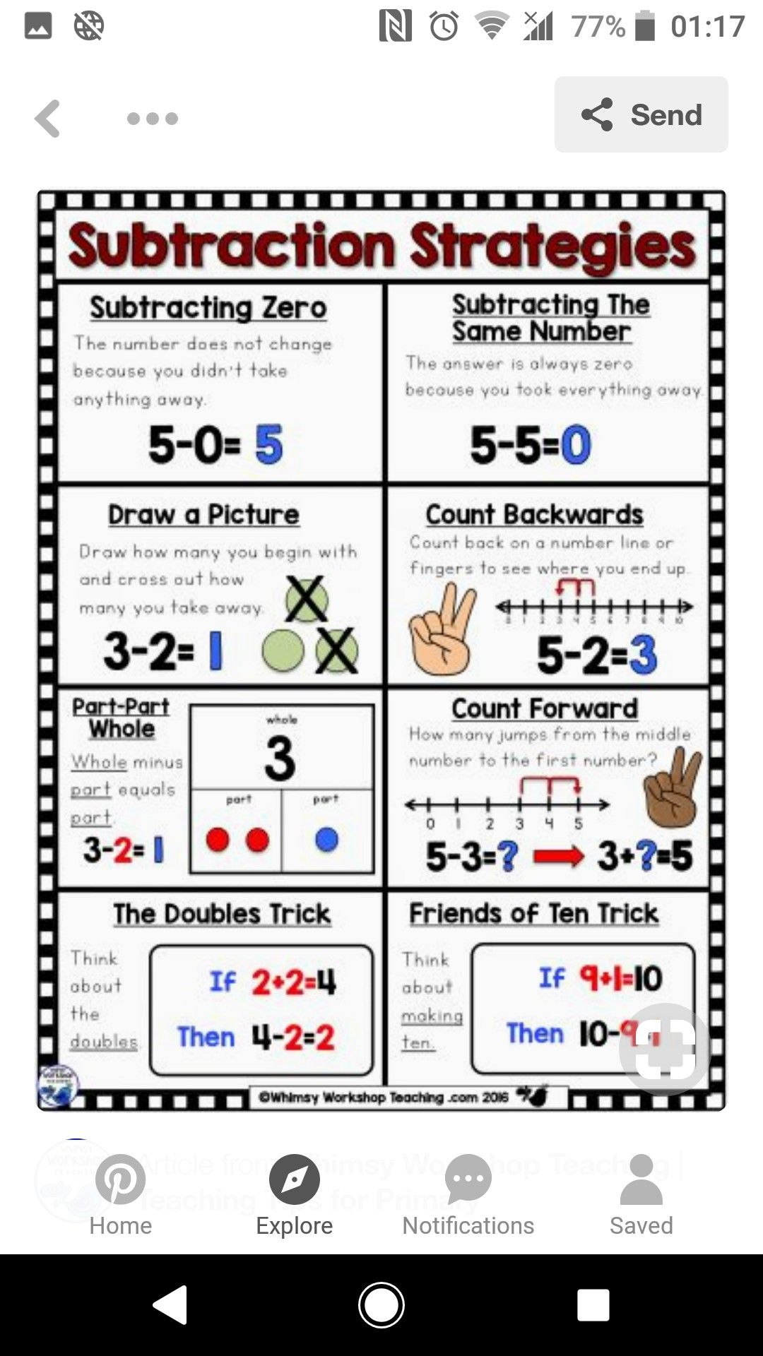 Pin By Teresa Mcmullen On Math