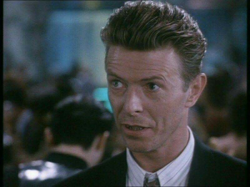 1991 - David Bowie as Monte in The Linguini Incident.