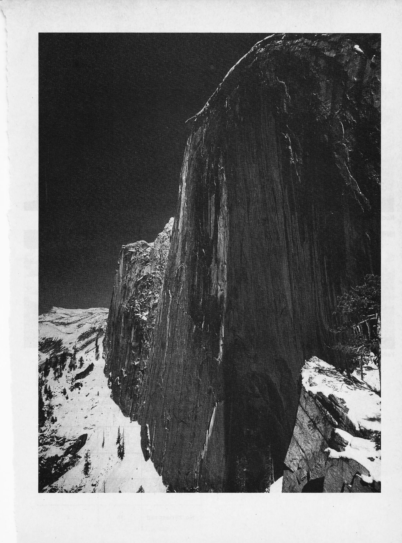 Ansel Adams Monolith, The Face of Half Dome, Yosemite Valley ...
