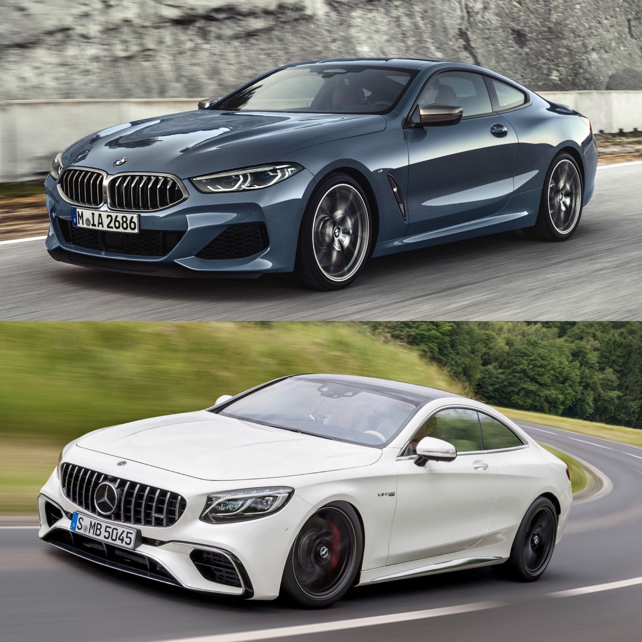 Photo Comparison: BMW M850i Vs Mercedes-AMG S63 Coupe