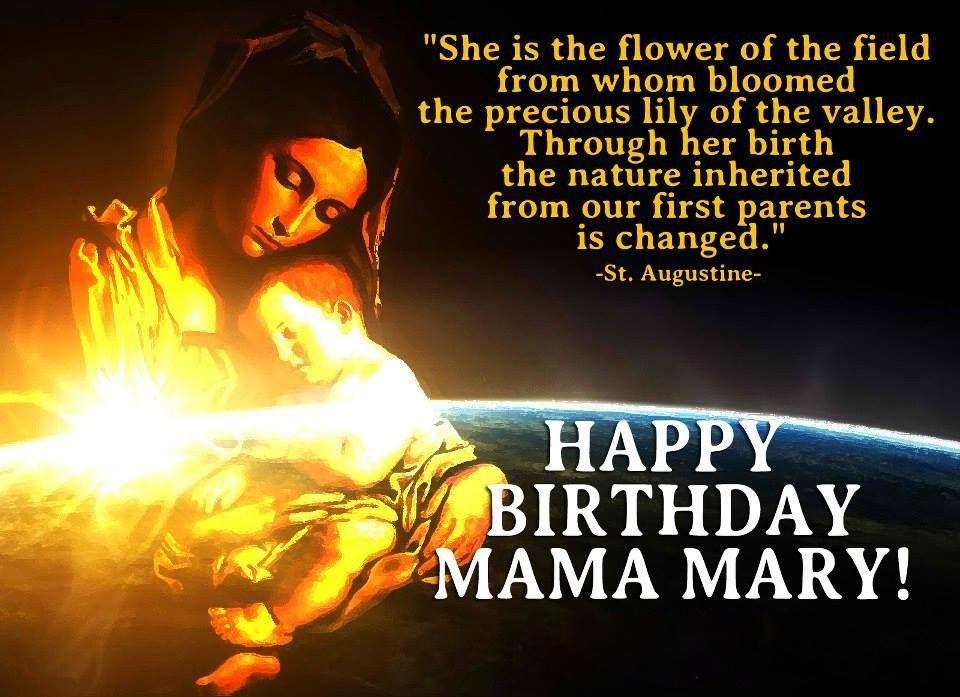 The Light of Faith | Happy birthday mama mary, Happy birthday mama, Mama  mary